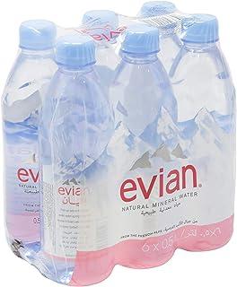Evian Mineral Water, 6 Pcs - 3 Litre