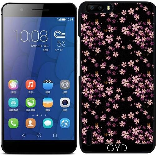 DesignedByIndependentArtists Custodia per Huawei Honor 6 Plus - Fiori Rosa by Wamdesign