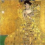 Poster 30 x 30 cm: Adele Bloch-Bauer I von Gustav Klimt -