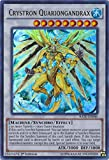 Yu-Gi-Oh! - Crystron Quariongandrax - RATE-EN046 - Ultra Rare - 1st Edition