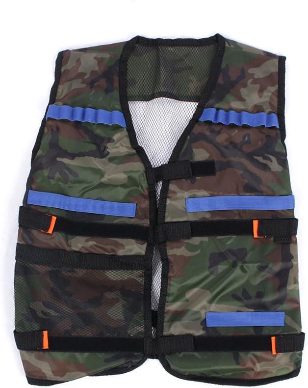 topseller-hzy Tactical Vest Suit Fashion Bullet Camouflage Clothes Deluxe EVA