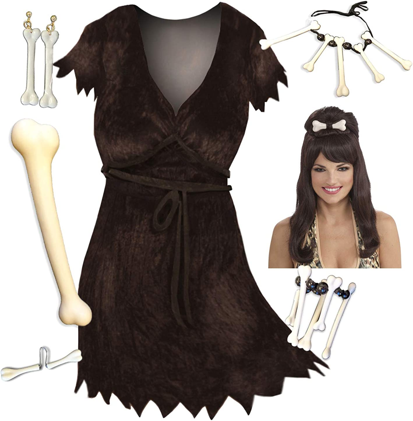 Selling and selling Outlet SALE Sanctuarie Designs Cave Woman Plus Halloween Costume Deluxe Size