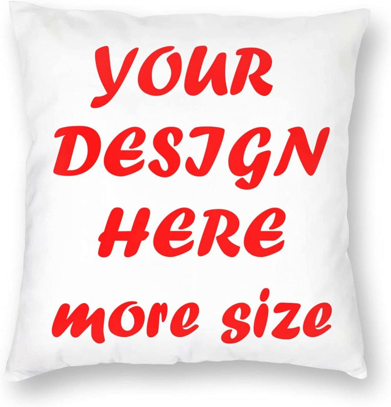Custom Design We OFFer OFFicial store at cheap prices Photos or Text Indoor Pillowcase Per Throw Outdoor