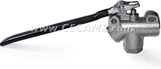 Stainless Steel 1/4 Carpet Cleaning Wand Angle Valve 2000 PSI Truckmount