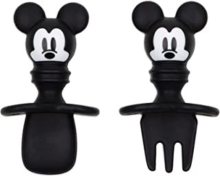Bumkins Silicone Chewtensils Feeding Sets, Mickey Mouse, Piece of 1