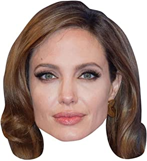 Angelina Jolie Celebrity Mask, Card Face and Fancy Dress Mask