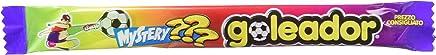 Goleador Mystery,la Doppia Caramella Gommosa con Gusto da Scoprire, Box da 200 Pezzi, Gusti Assortiti, 2 Caramelle per Incarto, Ideale per Feste per Bambini
