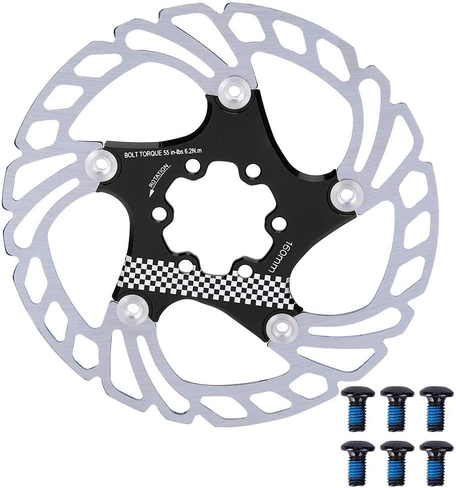 VGEBY Bike Brake Rotor 203mm Aluminum Type Mountain Year-end annual account Discount is also underway Alloy
