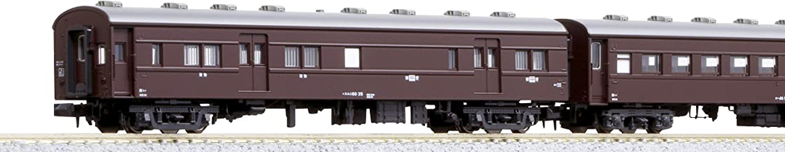 KATO Nゲージ 旧形客車 4両セット 茶 10-034 鉄道模型 客車