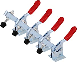 Handverktyg vippklämma 201B horisontell klämma 201-B snabbfrigöringsverktyg 4 st
