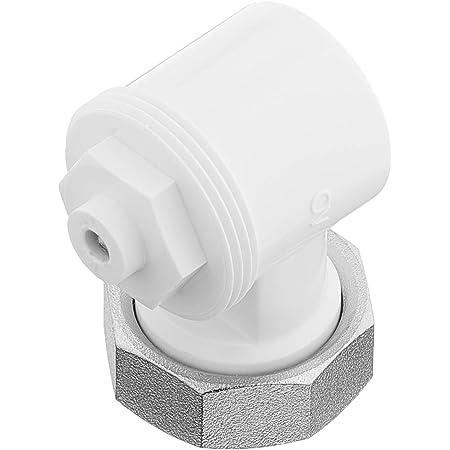 Oventrop ángulo Adaptador para válvula de HK, 1pieza, color blanco, 1011450
