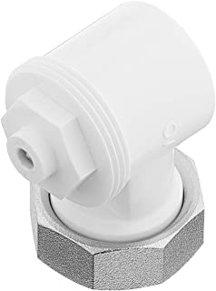 Oventrop 1011450 Angle Adaptor for Valve HK, White