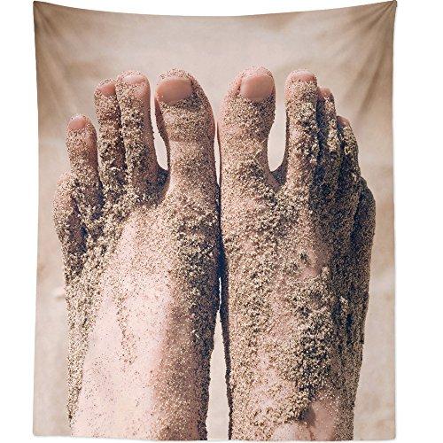 Westlake Art Tapiz para Colgar en la Pared, Diseño de infraestructura de Calzado – Fotografía Decoración del hogar Sala de Estar – 68 x 80 Pulgadas