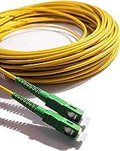 Elfcam - Câble Fibre Optique (jarretière Optique) SC/APC à SC/APC pour Orange Livebox SFR La Box Fibre Bouygues Telecom Bb...