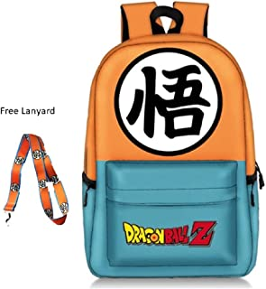 Tresbon Products Dragon Ball Z and Zelda Anime Backpacks with Free Dragon Ball Star Keychain -