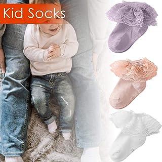 guowei0074 Calcetines De Algodón De Encaje Con Volantes De Malla Transpirable Para Bebés Y Bebés Recién Nacidos fabulous standard