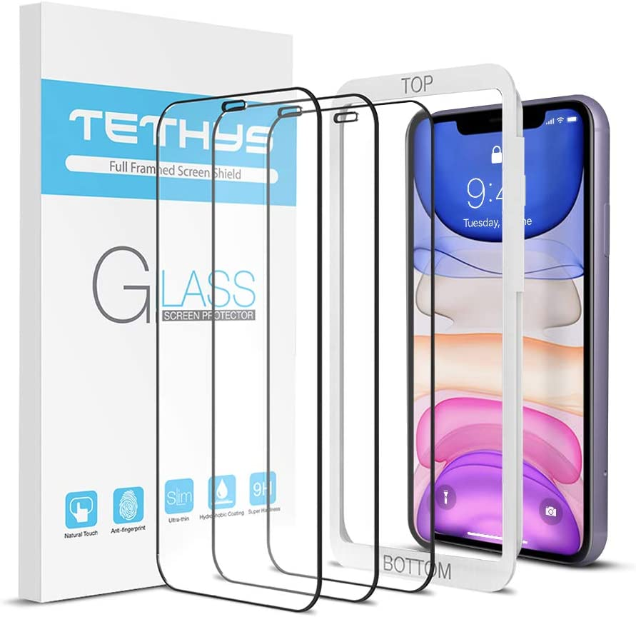 TETHYS Glass Screen Protector Genuine Free Shipping Designed Dallas Mall 11 iPhone For XR