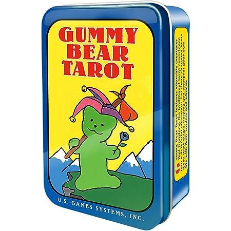 グミベア タロット 缶入り ポケットサイズ Gummy Bear Tarot 占い タロットカード 英語のみ