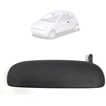 Wooya Left or Right Black Car Front and Rear Outer Door Handle Knob for Suzuki New Alto-Left