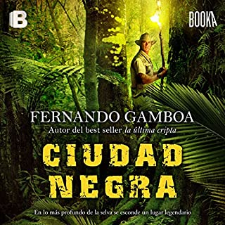 Ciudad Negra [Black City] audiobook cover art