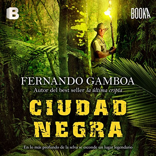 Ciudad Negra [Black City] audiobook cover art