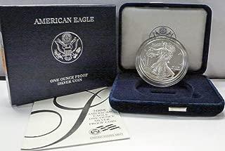 2008 W American 1 oz Silver Eagle Dollar PROOF US Mint