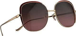 Gucci GG0400S Sunglasses Gold w/Multicolor Gradient Lens 58mm 003 GG0400/S 0400/S GG 0400S