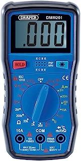 DRAPER dmm201 digitale multimeter, blauw