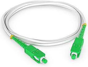 Octofibre - Câble Fibre Optique Orange SFR Bouygues - 5m - Renforcée avec Blindage Kevlar - Rallonge/Jarretiere Fibre Op...