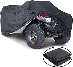 VVHOOY Waterproof ATV Cover,Heavy Duty 4 Wheel Cover Outdoor Storage ATV Cover Protects 4 Wheeler Quad from Snow Rain Sun UV(100x43x47in,XXXL)