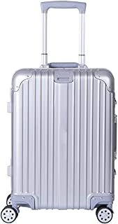 XIANGSHAN PC Aluminum Frame Travel Luggage, Hardside TSA Approved Carrying Suitcase, Travel Luggage Convenient Design Roll...