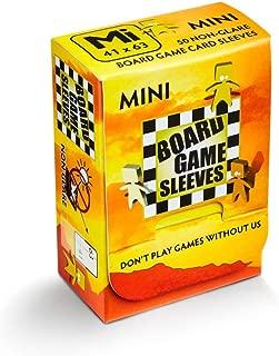 Arcane Tinman Board Game Sleeves: Mini (Non-Glare) 41x63mm, Clear