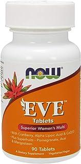 Now Foods Eve Múltiples Vitaminas Para Mujeres 90 Unidades 180 g