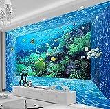 Imágenes XXL Para Pared Paisaje De Coral De Acuario Para Dormitorio, Salón, TV, Fondo De Pared Abstracta Moderno Dormitorio Salon Decoracion Murales 350X256cm