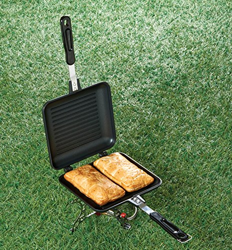 TF Gear Camping Sandwich Toaster Grill, Cooks Toasties, Breakfast and More! Ideal for Fishing 5