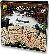 Blanxart Estuche de gustación 4 Tabletas de Chocolate Negro Ecológico, (4 x 80 g) 1 Unidad 320 g