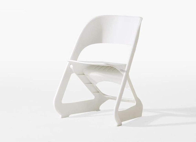 XUHRA Barstool Nordic Chair À La Maison Lumière Home Restaurant Chaise De Salle À Manger Simple Tabouret De Dossier Moderne Casual Chaise en Plastique,Blanc Marron