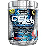 Creatine + BCAA Post Workout Electrolyte Powder | MuscleTech Cell-Tech Hyperbuild | Post-Workout Recovery Drink with Creatine Monohydrate + BCAAs Amino Acids | ICY Rocket Freeze (30 Servings)