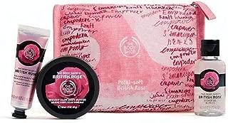 Les Sacs Body Shop fete Beaute -Fraise-Mangue-rose britannique-Shea-Noix coco The Body Shop Festive Beauty Bags Argan Oil-Strawberry-Mango-Shea-Coconut-  Fraise   Rose Britannique