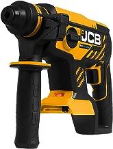 JCB Tools - JCB 20V Cordless Brushless SDS Rotary Impact Hammer Drill Power Tool - No Battery - For Concrete, Masonry, Rem...