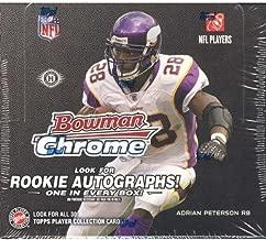 2008 Bowman Chrome Football Hobby Box (Look for Rookie Autograph Cards) Possible Matt Ryan or Joe Flacco