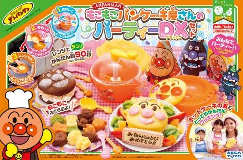 Sega Toys Party DX Set of pan Cake Shop Bulky Anpanman (Japan Import)