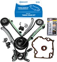 ECCPP TCS46000 Timing Chain Kit Cover Gasket fits for 03-07 Dodge Ram 1500 4.7L SOHC VIN P N