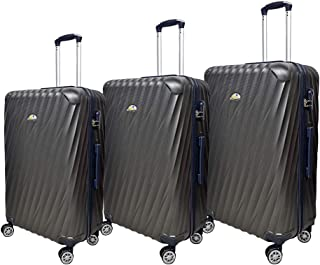 NEW TRAVEL Luggage HARD set 3 pieces size 28/24/20 inch BR503/3P