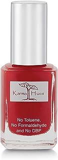 Esmalte de uñas natural orgánico Karma pintura de uñas no tóxica vegana y sin crueldad (ROJA Y AÚN)