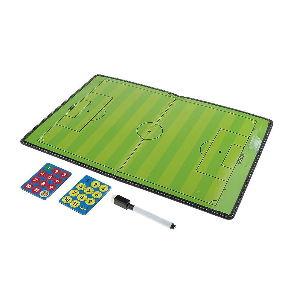方程式望ましいメトロポリタンFenteer サッカーボード フットサル コーチボード 作戦盤 作戦ボード 折り畳み式 マグネット軽量