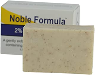 Noble Formula 2% Pyrithione Zinc (ZnP) Vegan Mango, Cocoa Butter, Olive Oil Bar Soap, (3 Bars in 1 Box), Total 9 oz