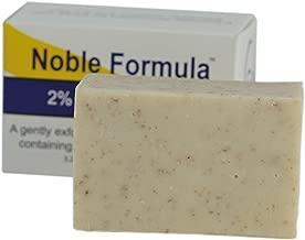 Noble Formula 2% Pyrithione Zinc (ZnP) Vegan Mango and Cocoa Butter Bar Soap, 3.25 oz