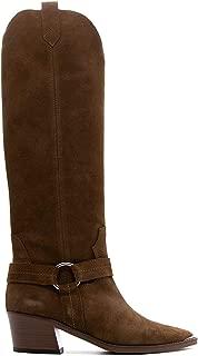 VIA ROMA 15 Luxury Fashion Womens 3378VELOURMARTORA Brown Boots  