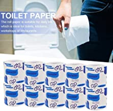 Ultra Strong Toilet Paper - Mega Roll, 10 Rolls, Soft 3 Ply Quilted Chamomile Scent Tissues,Strong and Highly Absorbent Hand Towels for Daily Use